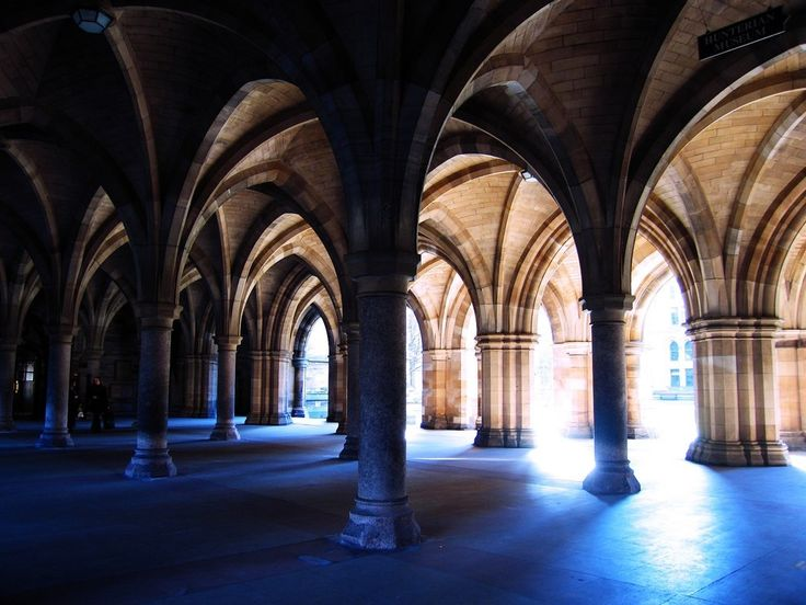 Because the University of Glasgow looks like this…   48 Reasons Living In Glasgow Ruins You For Life