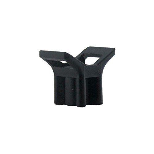 Legrand LEG98490 10 Embases à visser pour colliers de serrage intérieur/extérieur Noir: Price:5.38Embase à visser fixable par cheville (réf…