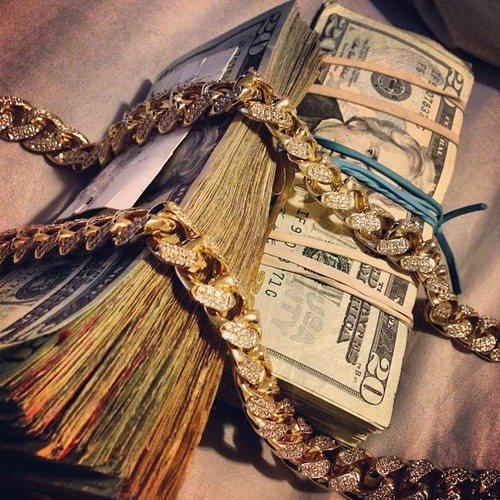 diamonds money