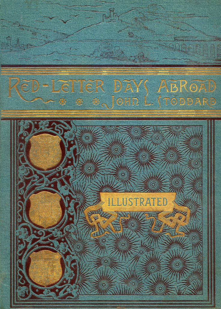 Beautiful Book Cover Letter ~ Red letter days abroad old books pinterest beautiful