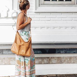 △ NEW HASEYA △ bag, the Wanderer. Already proving to be popular #haseyaleather  #leatherbag #shoulderbag #bohostyle #tan #tanbag #spelldesigns #wandererbag #bohemianstyle