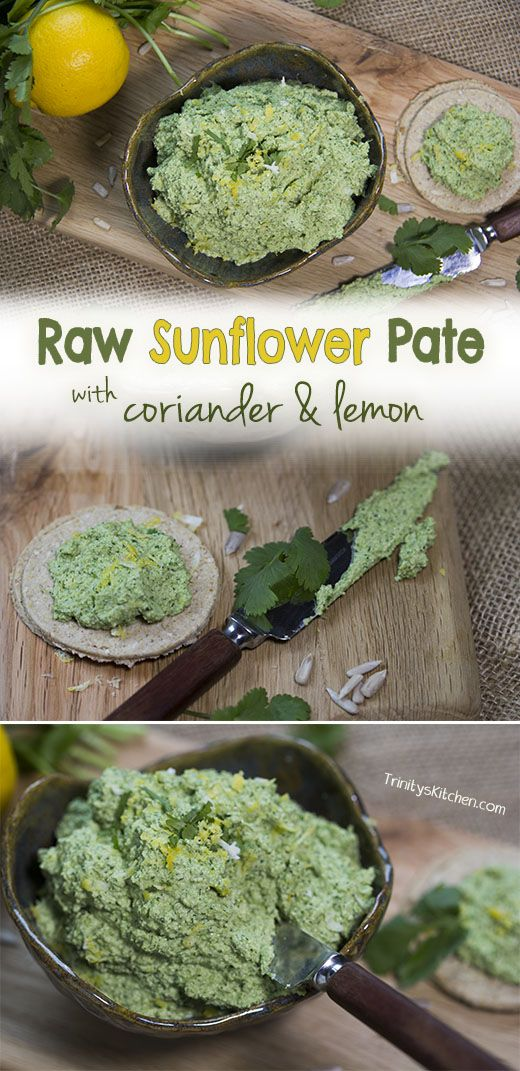 Trinity's Conscious Kitchen - Raw Sunflower Seed Pate and the Divine Spark of the Cosmos #plantbased #rawvegan #superhealthy #cleaneating