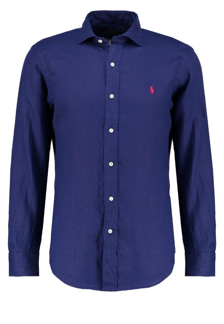 Polo Ralph Lauren SLIM FIT Hemd holiday navy Premium bei Zalando.de | Material Oberstoff: 100% Leinen | Premium jetzt versandkostenfrei bei Zalando.de bestellen!
