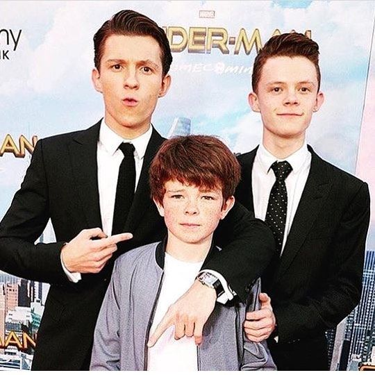 The #spidermanhomecoming premier was the best! congrats bro