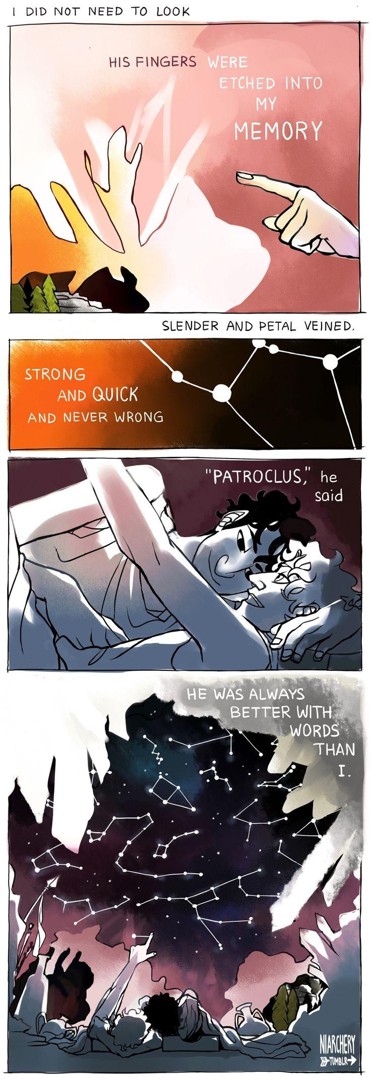 Patroclus and Achilles.