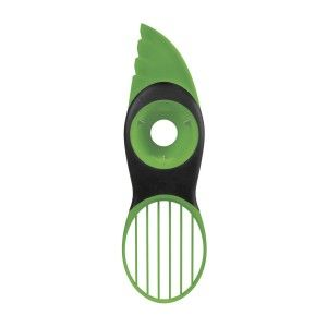 Must Have Kitchen Gadgets:OXO Good Grips 3-in-1 Avocado Slicer, Green