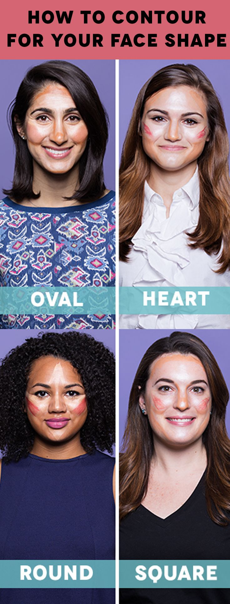Makeup Tips: How To Contour For Your Face Shape