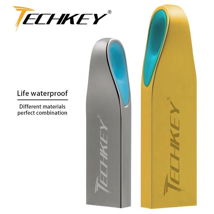 New Metal USB Flash Drive usb2.0 pen drive 32gb pendrive 16gb 8gb 4g memoria usb stick mini gift Flash drive customized logo #Affiliate