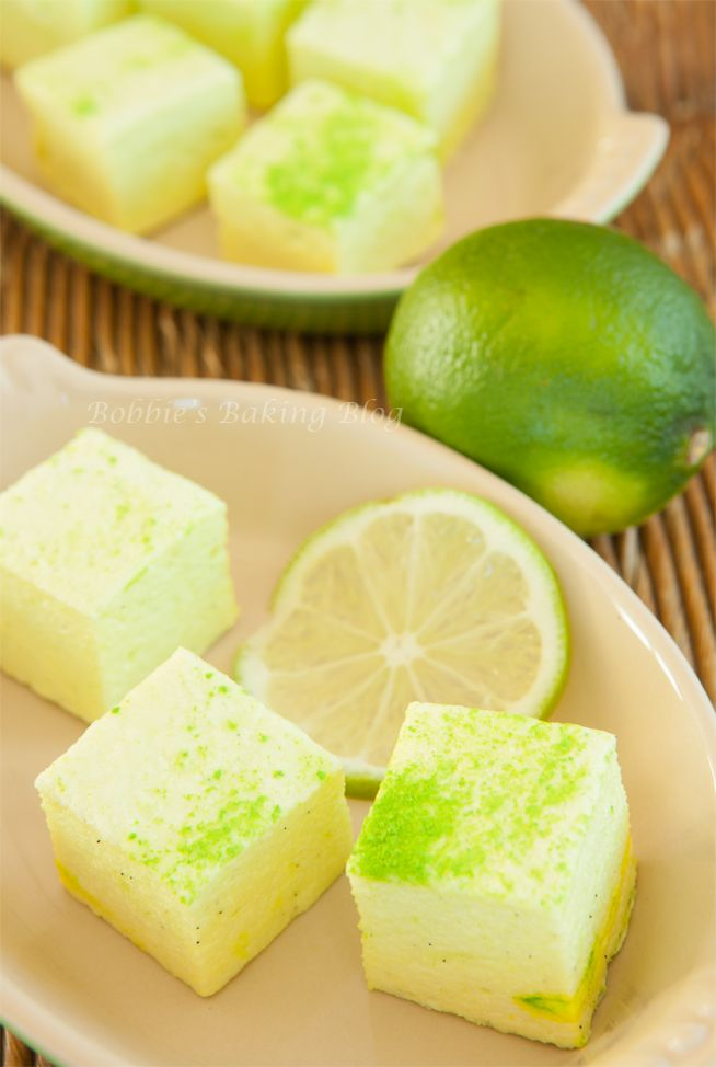 Key Lime Pie Marshmallows