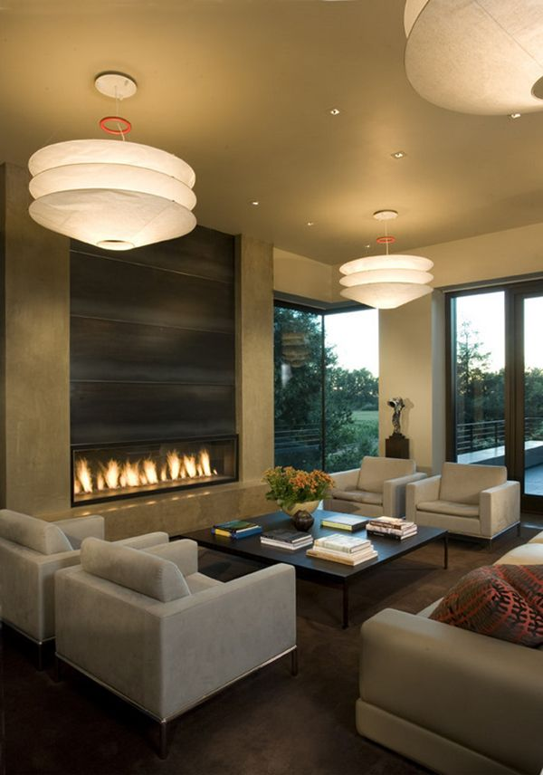 Cozy Modern Living Room With Fireplace 62 best living room decoration images on pinterest | living room