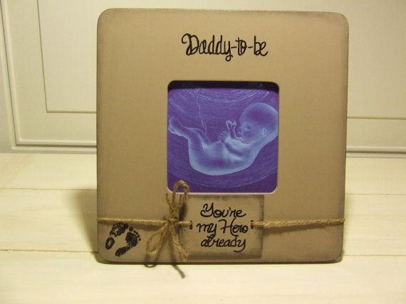 Daddy to be ultrasound frame sonogram GIFT for by BriahLakay