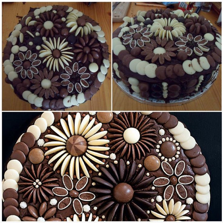 Chocolate Flowers Cake Decoration Telegraph : 25+ best ideas about Cake decorating kits on Pinterest ...