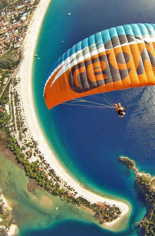 Paragliding in Oludeniz Turkey - @Just1WayTicket