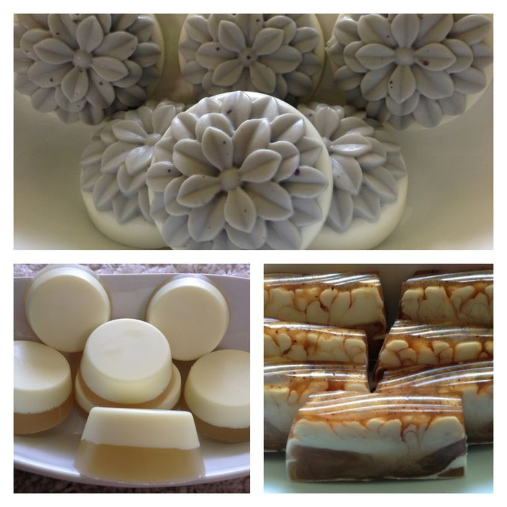 My own soap creations