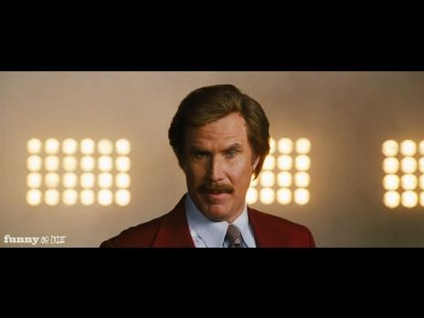 Exclusive Anchorman 2 Teaser - There's gonna be machine guns and boobies.