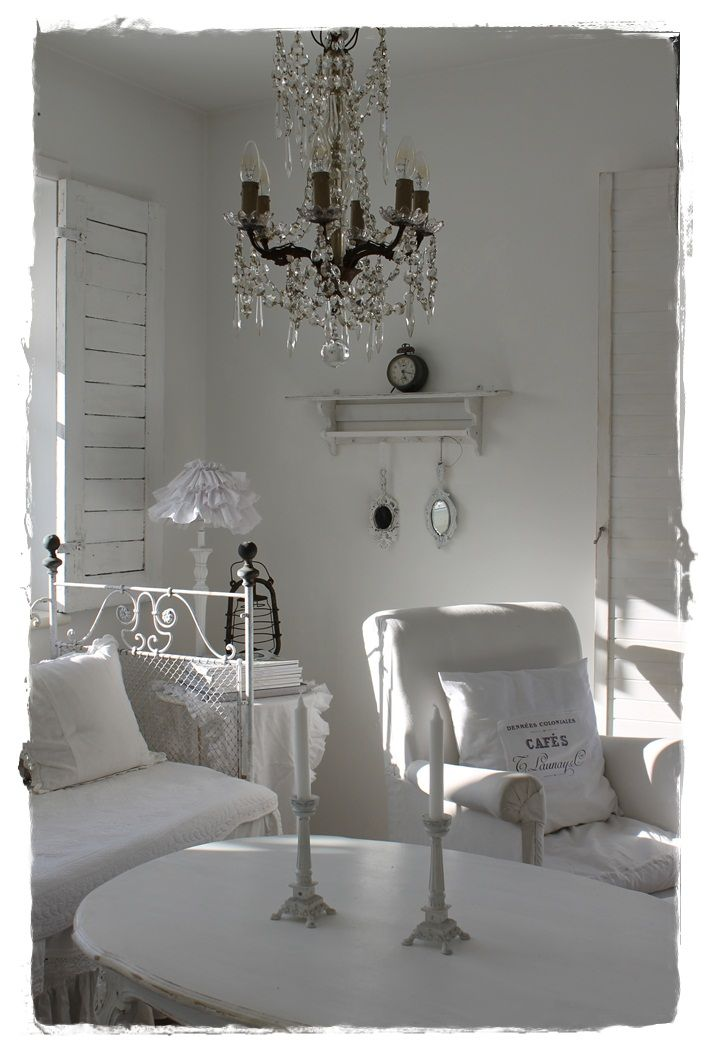 1000 Images About Shabby Chic Living Room On Pinterest