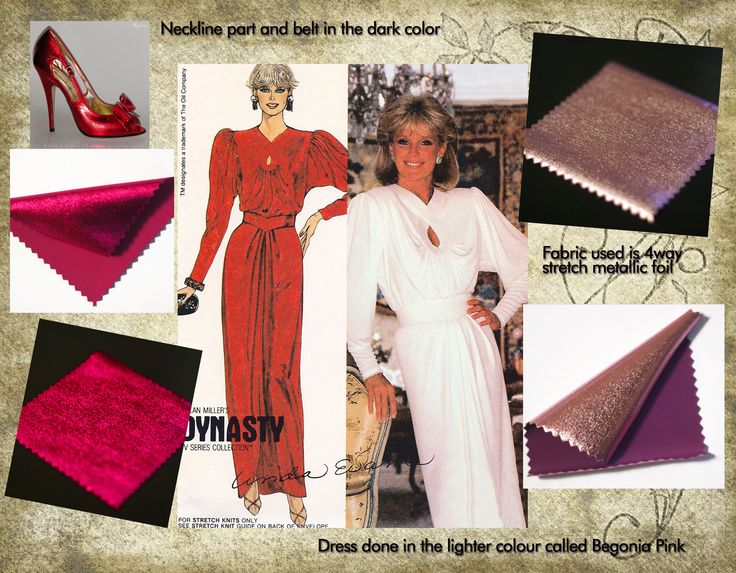 Dynasty evening dress