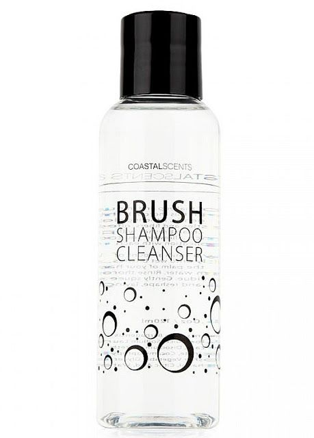 Affordable Makeup Brush Shampoo Cleanser Coastal Scents Brush Shampoo Cleanser