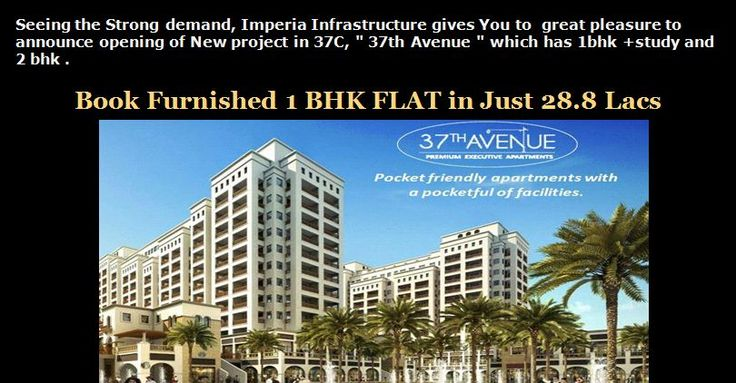 Imperia 37th avenue 1 bhk only in 28.8 lacs