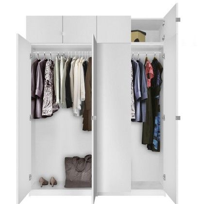 Alta Free Standing Wardrobe Package   Tall