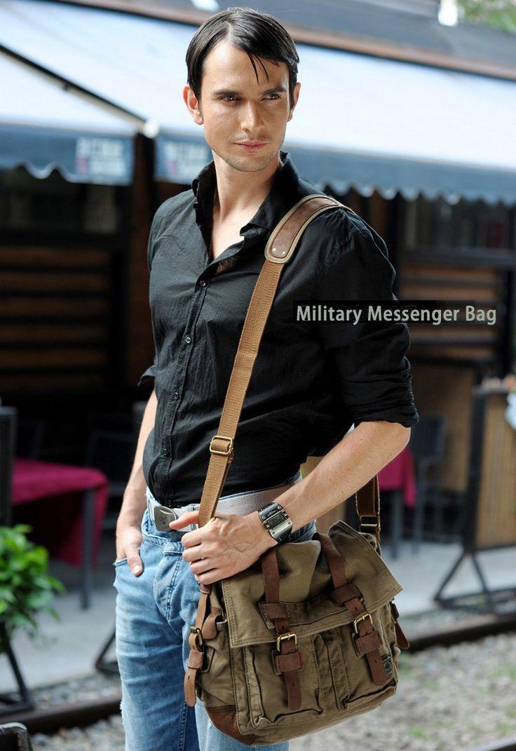 #Serbags #Military #Messenger Bag