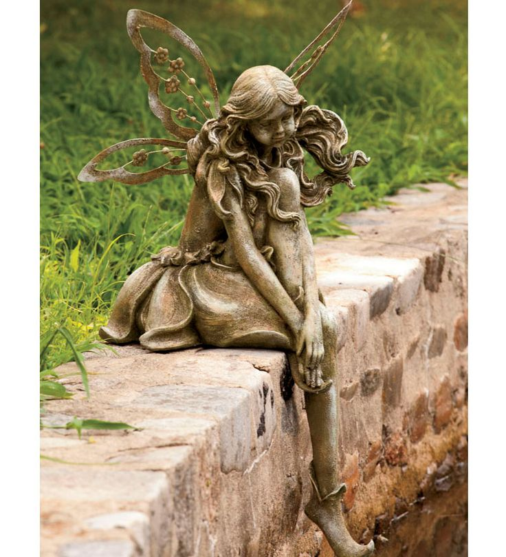 Fairy Garden Statue: 163 Best Images About Lawn Ornaments :) On Pinterest
