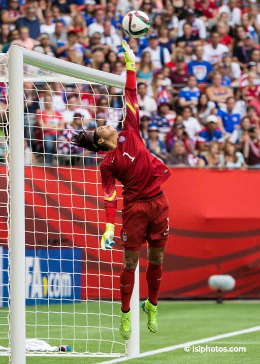 Hope Solo vs. Nigeria, June 16, 2015. (hopesolo. com)