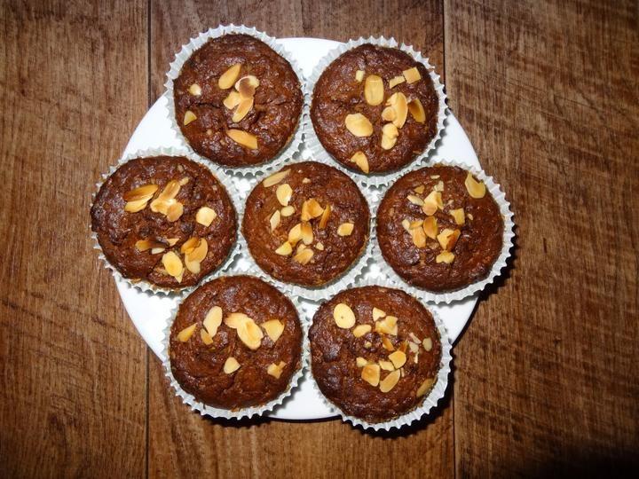 Špaldovo žitné muffiny s cuketou
