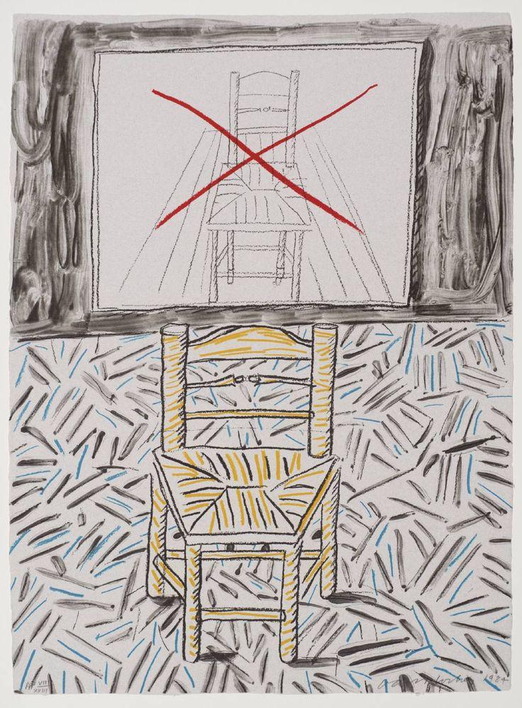 David Hockney 'The Perspective Lesson', 1984 © David Hockney