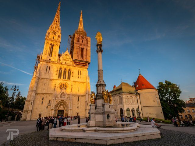 European Thursday Zagreb Cathedral Croatia Steemit Cathedral Croatia Zagreb