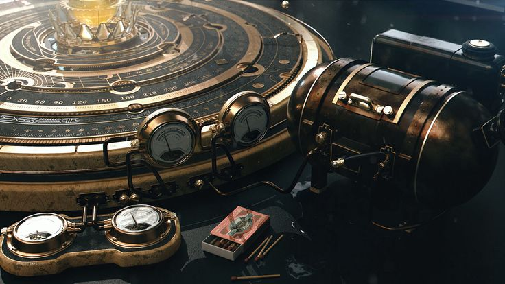 Steampunk Astrolabe Table with Ui on Behance