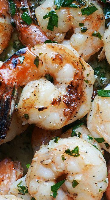 Grilled Scampi Shrimp