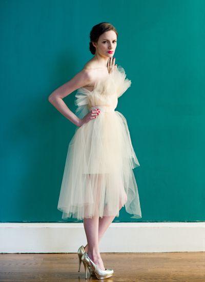 Wedding Dress - by Project Runway Season 6 - Carol Hannah
