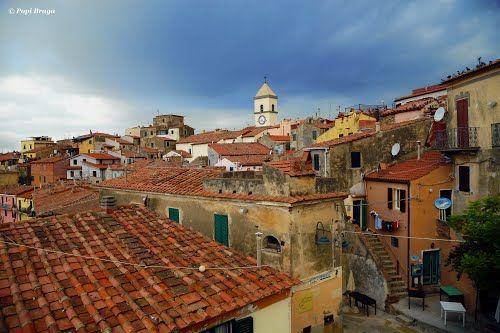 Marciana, Isola d'Elba painting - Αναζήτηση Google