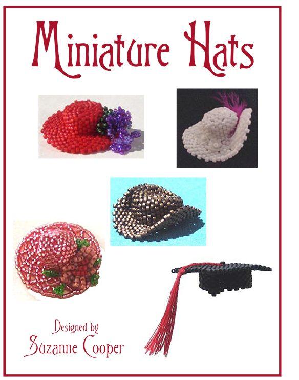 MINIATURE HATS BEADWORK E-BOOK | Bead-Patterns.com