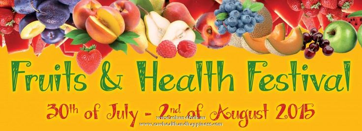 Fruits and Health Festival 2015 in Slovenia (Vegan, Rohkost, 80-10-10)