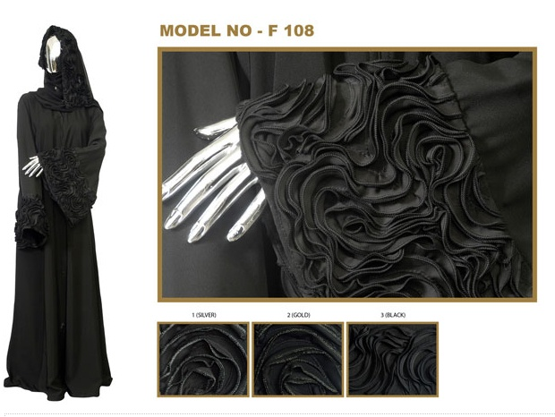 * خليجية *: Al Motahajiba abayat - abaya sleeve detail - diy customise idea?