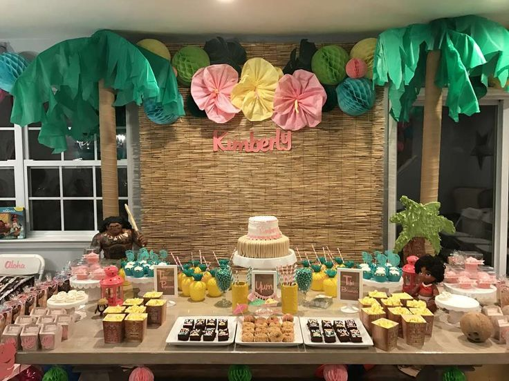 247 best images about moana polynesian party on pinterest for 40 year old birthday decoration ideas