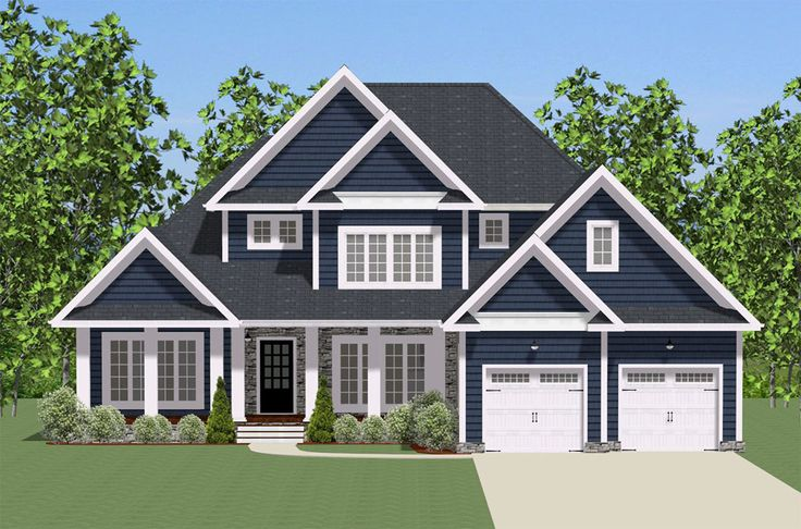Plan 46293la Traditional House Plan With Wrap Around