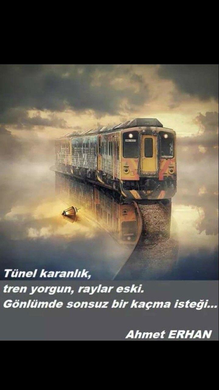 Gönlümde sonsuz bir kaçma isteği Ahmet Erhan