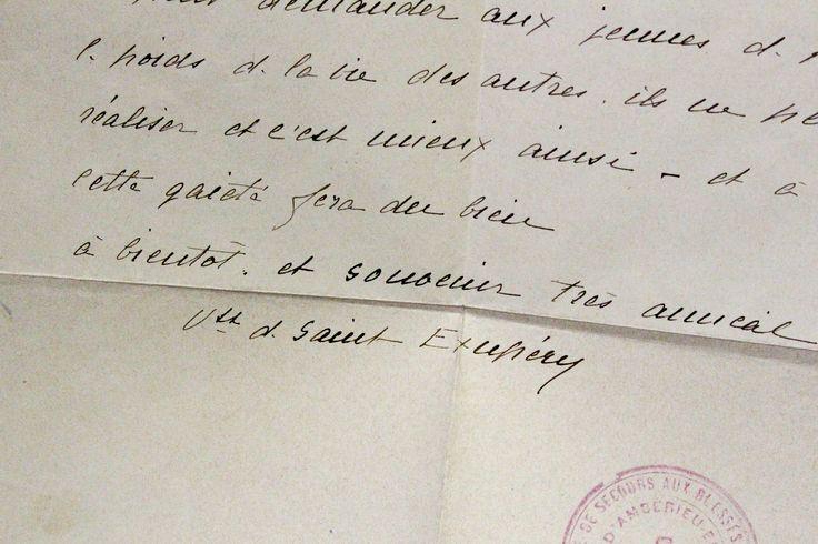 Dédicace autographe de Saint-Exupéry sur Courrier Sud.  www.Edition-Originale.com