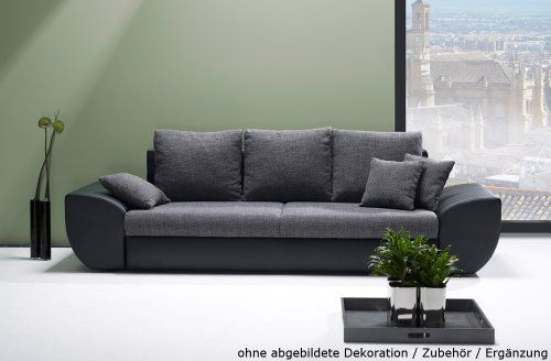 die besten 25 big sofa mit schlaffunktion ideen auf pinterest couch grau wohnzimmer. Black Bedroom Furniture Sets. Home Design Ideas