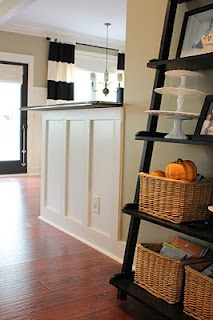 Ways to add character to the home.  Lots of ideas on this site, love the added molding to this bar..this could totally work in my house.