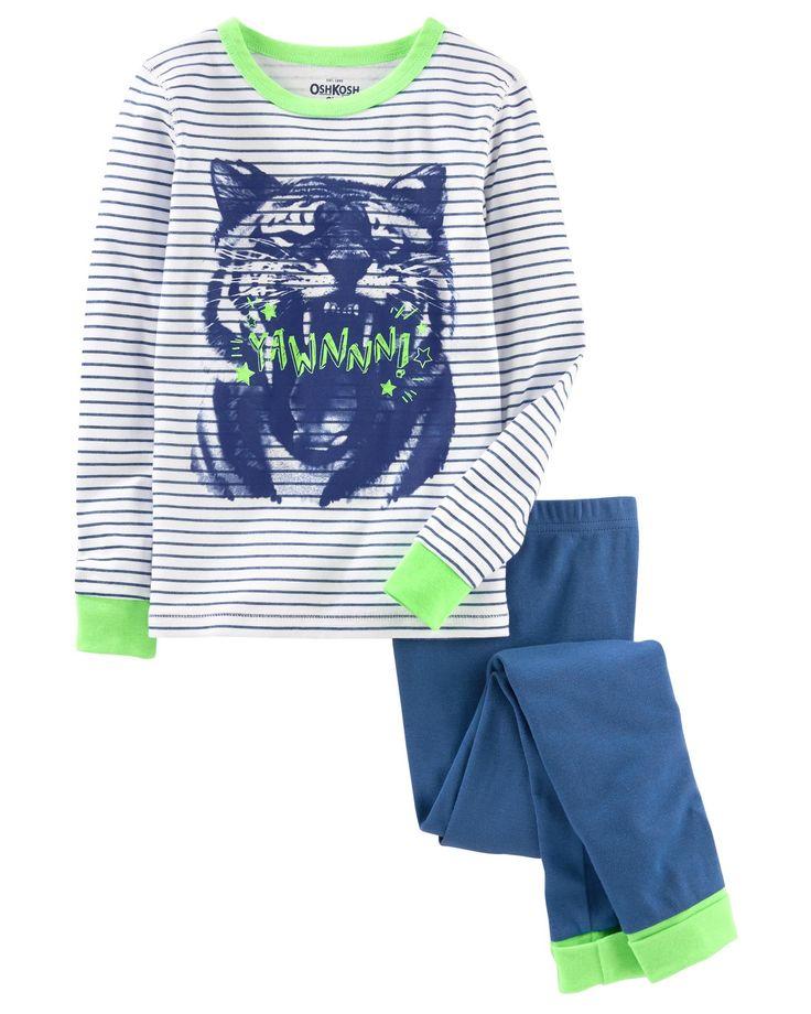 Kid Boy 2-Piece Snug Fit Cotton PJs   OshKosh.com