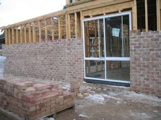 PGH Balmoral with wet mortar - Building with Eden Brae Homes: PGH Bricks_Sandstock Balmoral