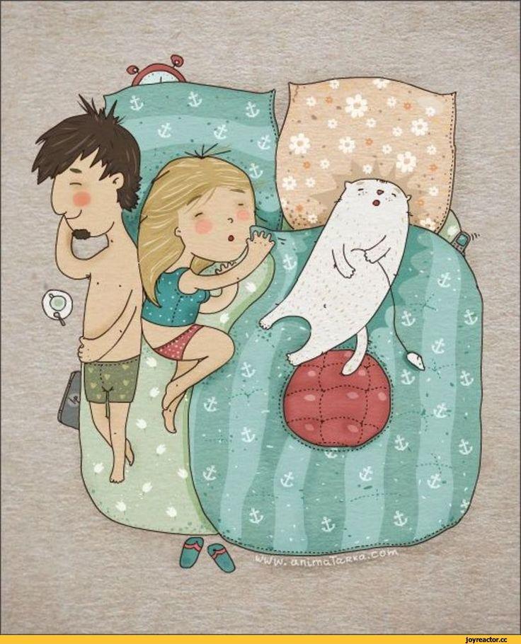 Сон смешные рисунки