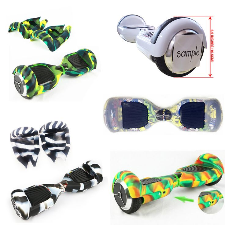 2 Wheels Smart Self-Balancing Electric Scooter Anti-Scratch Sleeve/Protector 6.5 Inch Hoverboard Silicone Case Full Cover