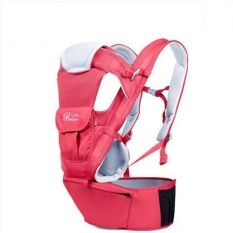 PR Kids BethBear เป้อุ้มเด็ก แบบ Hip Seat (สีีชมพูเข้ม) แถมฟรี โฟมกันกระแทกมุม 4 ชิ้น