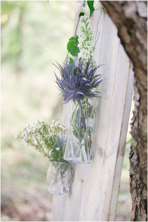 Beautiful greenery and flowers in an eco friendly wedding in Italy