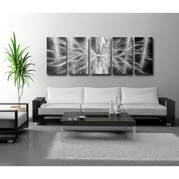 City Furniture Burst Silver Wall Art